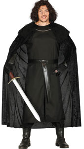 Medieval Guard Costume includes tunic  cape and belt
