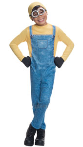 Proof that you don't need to be short and bald to be a Minion, this Bob outfit of blue and yellow will suit any wannabe Minion with the vision (or double vision) to become a king or a court judge.