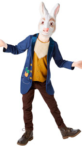 Mr Rabbit Costume, includes jacket with attached vest and mask.