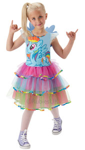 My Little Pony Rainbow Dash Costume includes dress only.