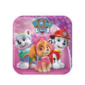 Paw Patrol And Pink Party Supplies
