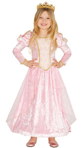 Pink Velvet Princess Costume includes dress with petticoat.