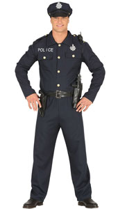 Police Officer Costume includes jacket  trousers  belt and hat