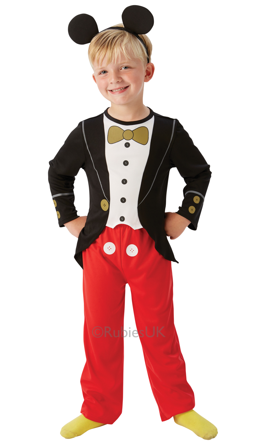 677b9bd43bc Child Mickey Mouse Costume Fancy Dress Costumes   Party Supplies ...