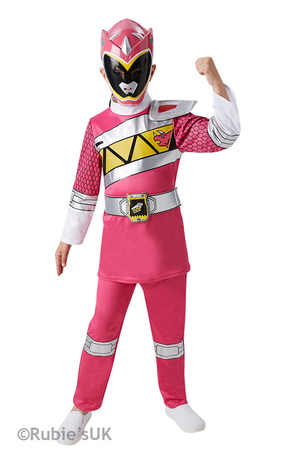Dino Charge Pink Ranger Costume Fancy Dress Costumes & Party ...