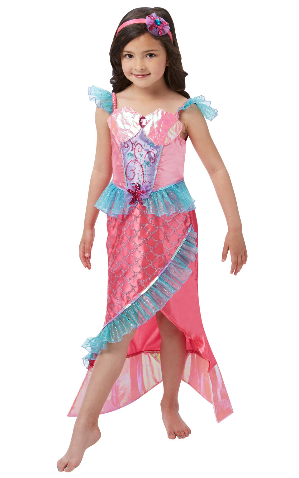 Child Mermaid Princess Costume Fancy Dress Costumes & Party Supplies ...