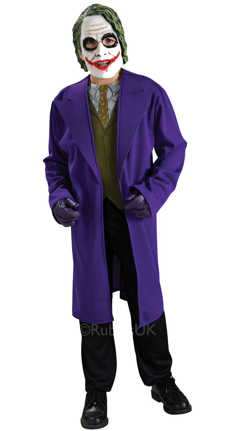Batman The Joker Costume Fancy Dress Costumes & Party Supplies ...
