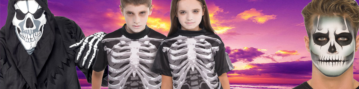 Skeleton Accessories - Fancy Dress Costumes, Party Supplies Ireland ...