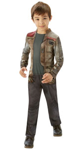 Star Wars The Force Awakens Classic Finn Costume. Printed Jumpsuit