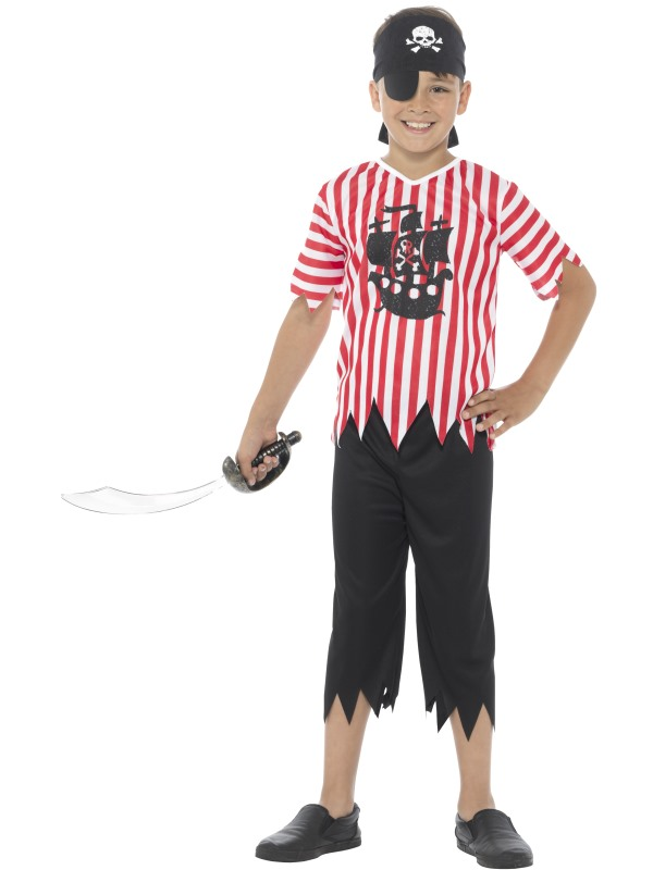 childrens boys pirates costumes