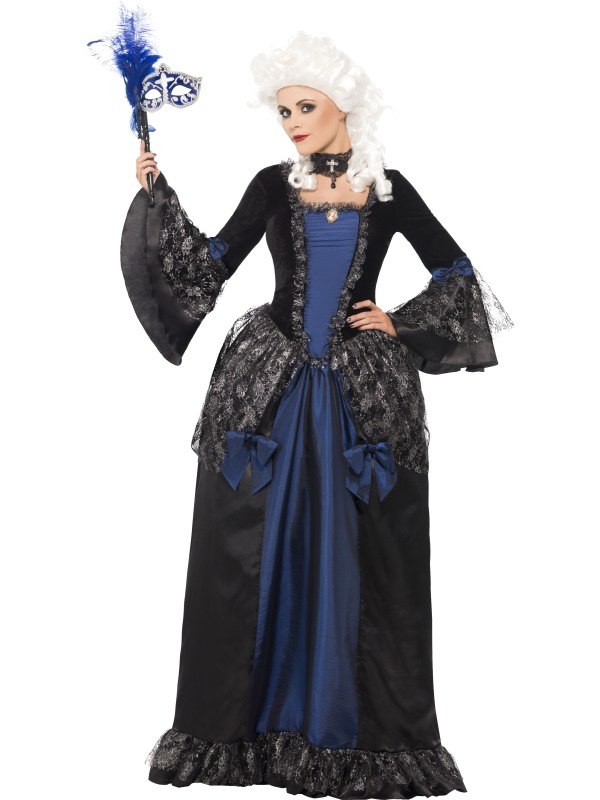 Baroque Beauty Masquerade Costume Fancy Dress Costumes & Party ...