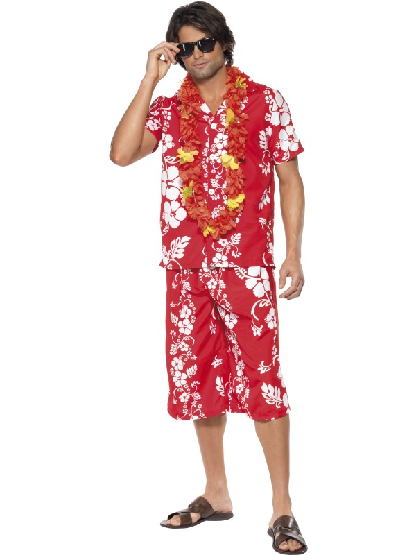 Hawaiian Hunk Costume Fancy Dress Costumes & Party Supplies Ireland ...