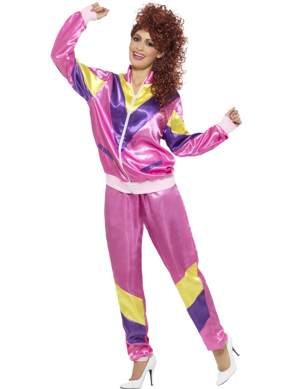 80s Shell Suit Pink Fancy Dress Costumes & Party Supplies Ireland ...