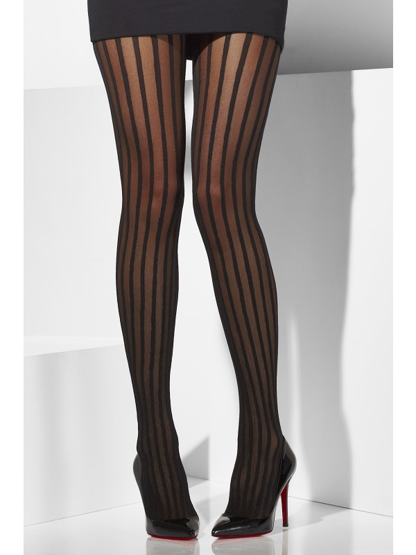 black stripey stripy striped tights