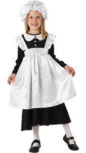 Victorian Maid Costume includes dress and hat.